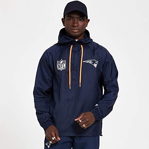 New Era NFL Windbreaker Neepat Osb Giacca, Uomo, giacca, 12380482, Blu scuro, S