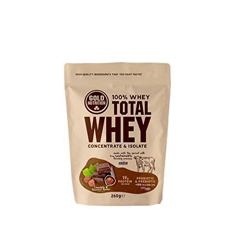 Gold Nutrition Suero De Leche Total 260gr Chocolate&avellana