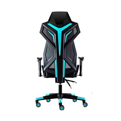 Büro Gaming Stuhl,Stuhl Bürostuhl Video Spielstuhl Ergonomie mit abnehmbarem Lendenkissen Spiel Computerstuhl Home Swivel Chair Modern Einfachheit Stuhl