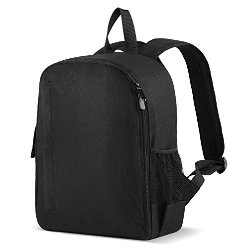 Powerextra Professional Waterproof Camera Backpack Bag for DSLR/SLR Mirrorless Camera, Camera Case Compatible for Sony Canon Nikon Camera and Lens Tripod Accessories