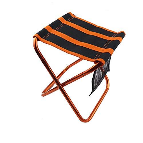 TEET Klappstuhl für den Außenbereich, tragbar, ultraleicht, Aluminium-Sitzhocker, Camping, Picknick, für Outdoor-Aktivitäten