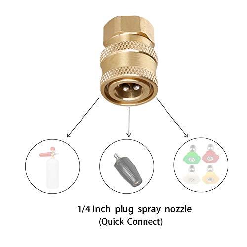 Atmozon Pressure Washer Gun Adapter, to 1/4