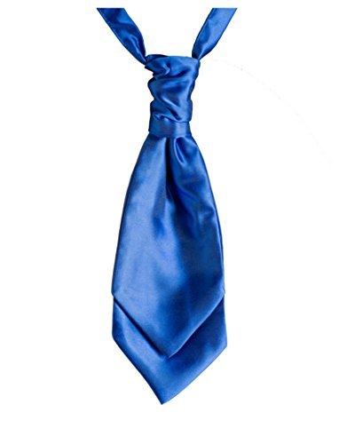 Paisley de Londres et foulards cravates, en bandes pour homme Bleu roi