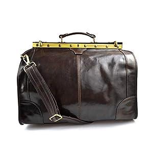 Leder Artztasche Ledertasche Damen Leder Doktor Tasche Artzt Reisetache Doctor Bag Leder Tasche Herren Leder Handtasche…
