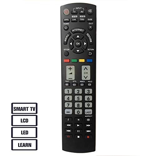 New Replacement Panasonic TV Universal Remote Control Fit for Panasonic...