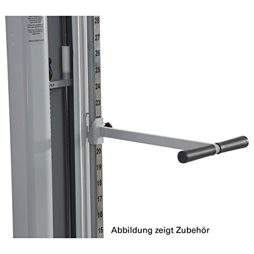 Lojer Stützsprosse für Seilzugapparat Haltegriff für Kabelzug Seilzug Reha Sport