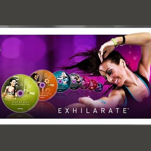 original version tedesca esilarare Zumba Fitness Body Premium Shaping System 7 A DVD Set