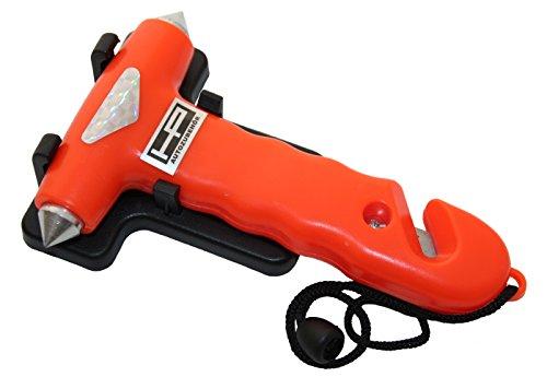 HP Autozubehör 10659 Nothammer mit Gurtmesser