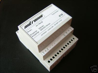Trennrelais Hutschiene für 6 Rollladen, Jalousien Art. 230-8016-22