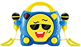 Big Ben, Portable CD Player met 2 Microphones - My Milo (Blauw/Geel) -