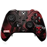 Skinit Decal Gaming Skin Compatible with Xbox One Elite Controller - Officially Licensed Marvel/Disney Deadpool Howl Design