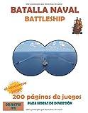 Batalla naval Battleship | Libro de juego | Perfecto para viajes largos | Divertido juego para niños y adultos. Todo lo que necesitas es un bolígrafo ... NIÑOS ADOLESCENTES Y ADULTOS | 200 JUEGOS