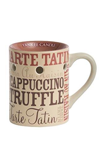 Yankee Candle Wachs-Tart Stövchen, Motiv Kaffeekultur,
