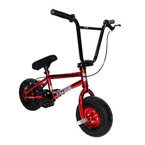 Fatboy Mini BMX Bicycle Freestyle Bike Fat Tires Candy Red Assault PRO by FatBoy Mini BMX