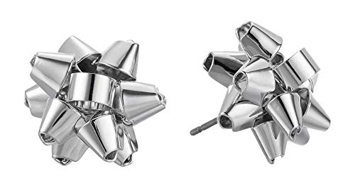 Kate Spade New York Studs Earrings Bourgeois Bow Silver