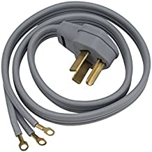 General Electric WX09X10004 3 Wire 30amp Dryer Cord, 6-Feet