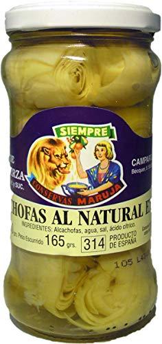 Alcachofa Producto de España Conservas Maruja Peso neto 290g.