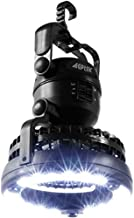 AGPtek 2-IN-1 18 LED Portable Camping Lantern with Ceiling Fan for Outdoor Hiking Fishing Outages and Emergencies Tent