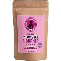 Slim Girlz Slim Tea 28 Days | Hoja suelta 85g | Té Adelgazante Para Mujeres | Té de Dieta y Para Pérdida de Grasa | Suplemento Dietético Natural Para Adelgazar | Para una Dieta Más Exitosa