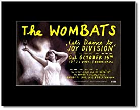 Music Ad World Wombats - Lets Dance for Joy Division Mini Poster - 21x13.5cm