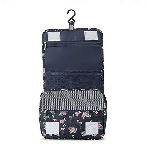 Ysy Sac Cosmétique De Voyage Impression Flamingo Multifonctions Grande Capacité Stockage Portable Lavage Crochet étanche Sangle Portable,D