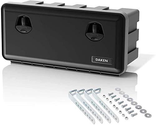 Daken Just 750-R Truck Storage Box with Holder Tool Box 750 x 350 x 300 mm Storage Box Tool Box 47.5...