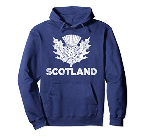Vintage Scotland Rugby Shirt - Scottish Rugby Football Top Pullover Hoodie