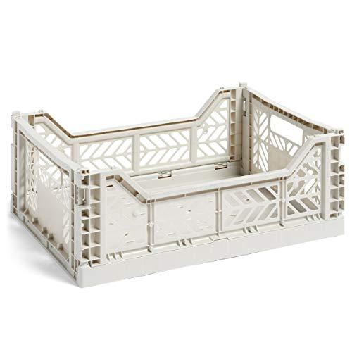 Hay Colour Crate M, Transportbox, grau