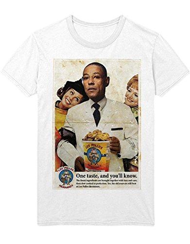 T-Shirt Cook Los Pollos C999907 Weiß S