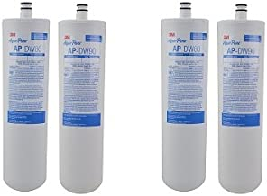 3M AquaPure Under Sink Replacement Water Filter � Model AP-DW80/90 (2-(Pack)) (2-(Pack))