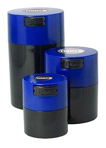 tightpac Amérique Bouchons TIGHTVAC avec boîte Bleu foncé/Noir Corps (Lot de 3)