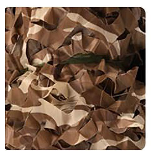GERYUXA Red De Camuflaje, Ejército Caza Militar Red De Camuflaje del Bosque para Acampar/Sol Al Aire Libre/Decoración para decoración de Fiestas de temática de Coche-Amarillo Natural 6x10m(20x33ft)
