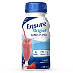 IMMUNE SYSTEM SUPPORT: Nutrients to support immune system health with protein, vitamins A and D, zinc, and antioxidants ( Vitamins C and E) STRENGTH & ENERGY: Nutrition scientifically designed for Strength & Energy COMPLETE NUTRITION: Each Ensure Ori...