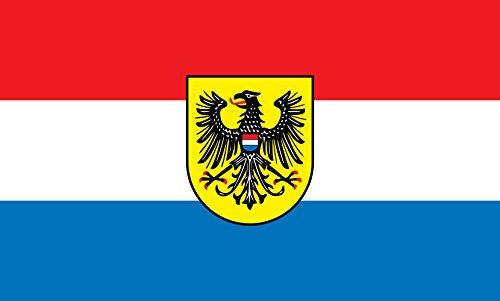 Unbekannt magFlags Tisch-Fahne/Tisch-Flagge: Heilbronn 15x25cm inkl. Tisch-Ständer