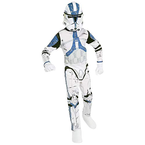Costume de Clone Tropper Légion 501 Star Wars pour garçon