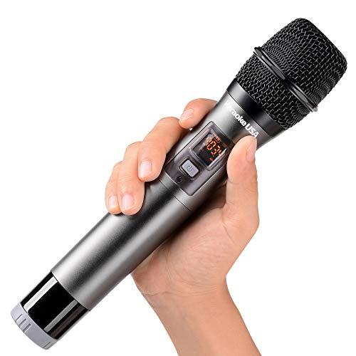 Karaoke USA Professional WM900 900 MHz UHF Wireless Microphone,Black,11.00in. x 5.20in. x 2.40in.