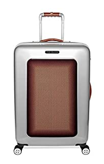 Ted Baker Men's Hardside Spinner Luggage Herringbone Collection