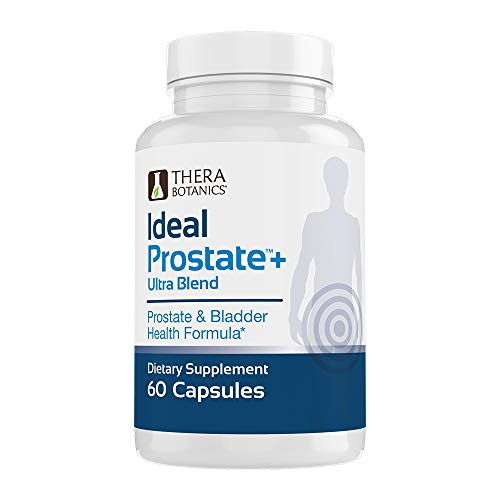 Ideal Prostate Plus Ultra Support Supplement Powerful Prostate Supplement for Men – Natural Prostate Relief with Saw Palmetto, Beta Sitosterol, Lycopene, Zinc, Horsetail & Vitamin D3 – 60 Capsules