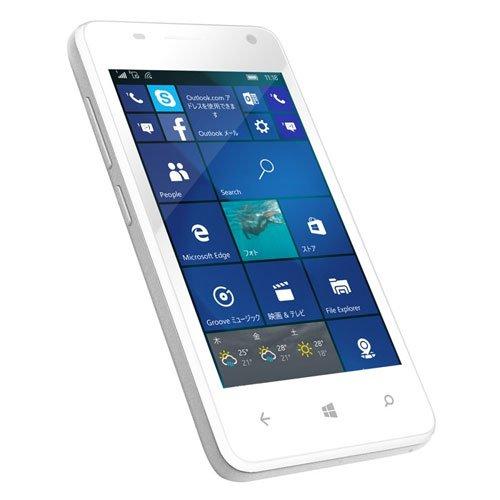 geanee Windows Phone 4インチ ホワイト WPJ40-10-WH