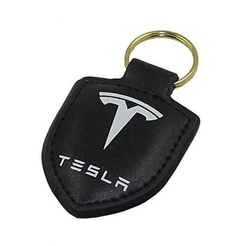 PSL Schlüsselanhänger, echtes Leder, für Tesla Modell 3 Modell X Modell S