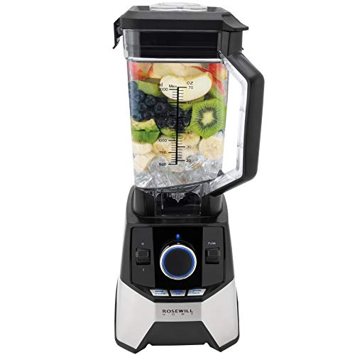 Rosewill Professional Blender, Industrial Power High Speed Commercial Blender, Quiet 1400 Watt 33000 RPM Motor - RHPB-18001