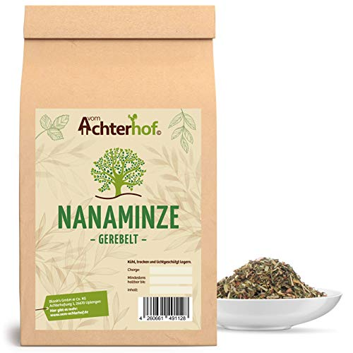 Nana Minze Tee | 500g | Krauseminze Spearmint | marokkanische Minze | vom-Achterhof