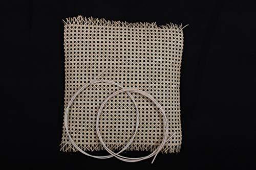 rattan-petrak Thonetstuhl - Reparatur - Set/Wiener Geflecht 50x45cm inkl. Splintpeddig