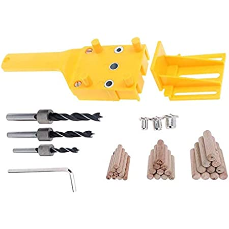 Reliable Woodworking Kit Wood Doweling Jig Drill Guide Wood Dowel Drilling Hole