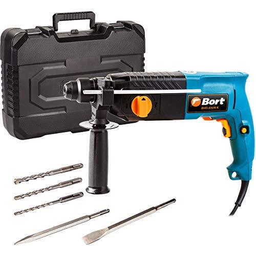 Bort Bohrhammer BHD-800N-K 800 W, 3 J, Bohrleistung 24 mm, SDS-Plus-Aufnahme, Metall-Tiefenanschlag