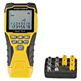 Klein Tools VDV501-851 Cable Tester Kit with Scout Pro 3 for Ethernet/Data, Coax/Video and Phone Cables, 5 Locator Remotes