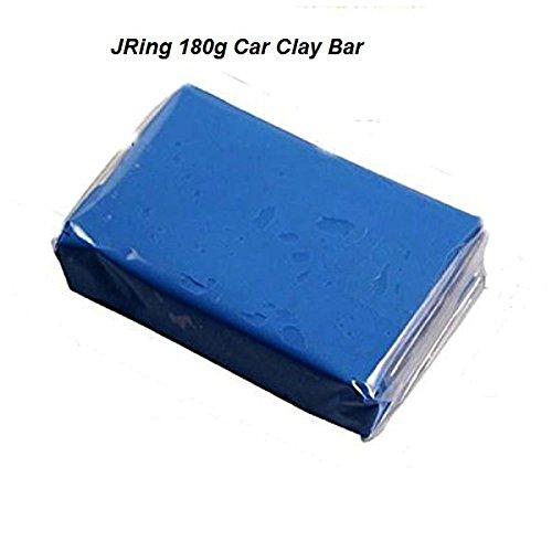 JRing Clay Bar Kit Barra Dell'argilla Dell'automobile di 180g, Detergente Professionale Della Barra Dell'argilla di Detailing Auto Professionale per le Automobili dei Motociclette