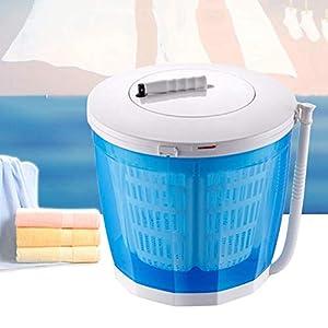 AYNEFY - Mini lavadora con centrifugadora 2 en 1, portátil, portátil, portátil, para viajes de camping al aire libre
