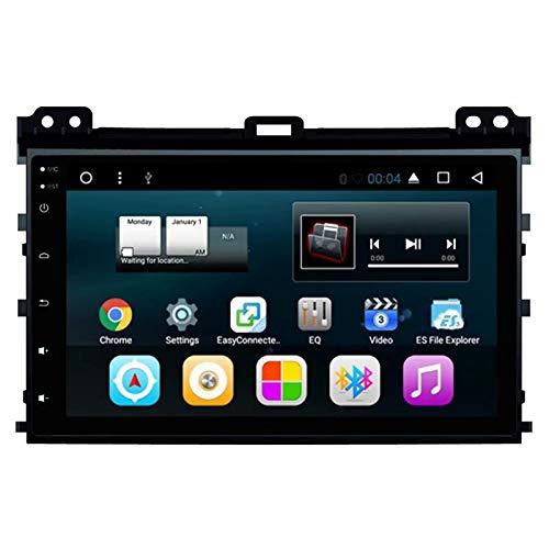 TOPNAVI Stéréo Android 7.1 Core Quad Core 7.1 pour Toyota Prado 2004 2005 2006 2007 2008 2009 Radio Autoradio avec WiFi 3G Bluetooth Audio Vidéo 2 Go de RAM 32 Go ROM