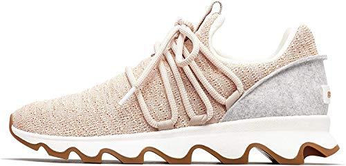 Sorel Womens Kinetic Lace Natural Tan Sneaker - 7